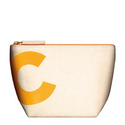 Clarins Orange Pouch