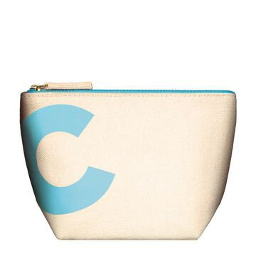Clarins Blue Pouch