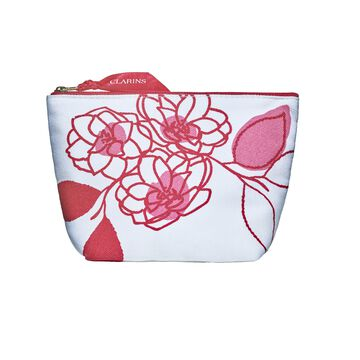 Clarins Red Pouch