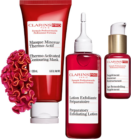 Products from the Clarins Pro range